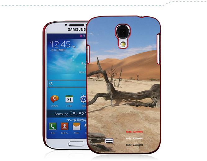 Tribal Elephant Totem Protective Phone Cover Case For Samsung Galaxy S4 Galaxy S3 Support Wholesales Drop Shipping To Worldwide(China (Mainland))
