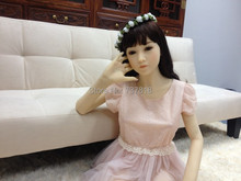 Sexy Doll with pink skirt Real Full Silicone Sex Doll for Men 145cm High japanese silicone