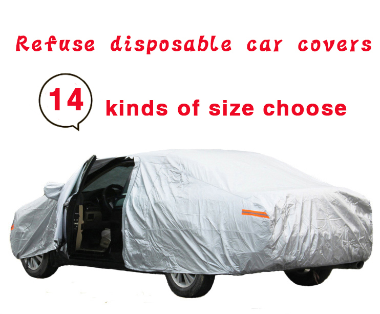 Full Car Cover UV Protection Waterproof Outdoor Indoor Breathable Free Shipping(China (Mainland))