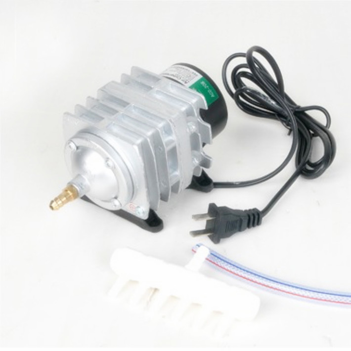 220V 25W 45L/min Hailea ACO-208 Electromagnetic Air Compressor Aquarium air pump Electric Fast shipping