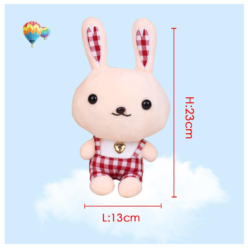 New Baby&Kids Rabbit Plush Toys Soft Stuffed Animals Dolls Rabbit Toys for Children Christmas Gifts Kawaii Cartoon AnimalsToys(China (Mainland))