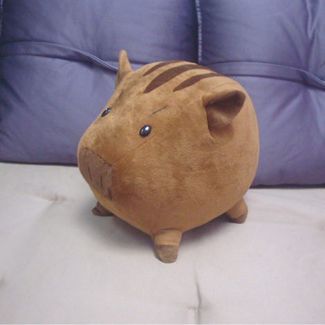 CLANNAD  peony pig doll  100% Handmade Plush Toy Cosplay Props