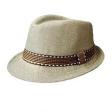Steampunk موضة 2018 للأطفال الأولاد والبنات للجنسين قبعة فيدورا بقماش متباين قبعة جاز رائعة قبعة تريلبي(China)