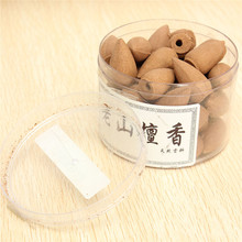 45pcs Brand New Bullet Laoshan Sandalwood Incense Smoke Backflow Hollow Cones Tower Incense Wholesale(China (Mainland))