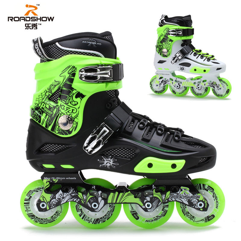 Professionales Road Show RX4 Roller Skates Four Wheel Skates Inline Skates Ice Hockey Skates For Adulto(China (Mainland))