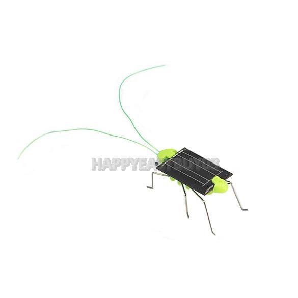 H3#R Solar Power Grasshoppe Toy Children Crazy Grasshopper Cricket Kit Toy(China (Mainland))