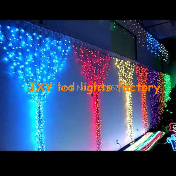 shipping led christmas lights holiday outdoor rgb 5m string lights