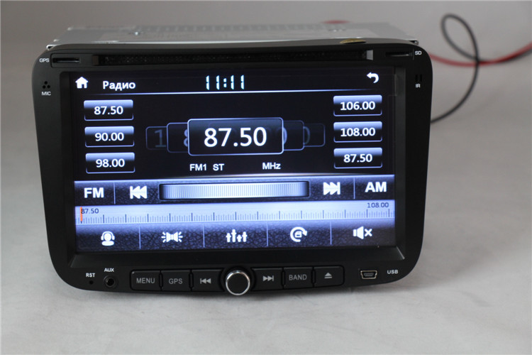 High Quality model Car GPS Navigator For Geely Emgrand EC7 with DVD/Support 3G dongle Internet/Radio in Russia/Map gift()