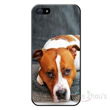 For iphone 4/4s 5/5s 5c SE 6/6s 7 plus ipod touch 4/5/6 back skins mobile cellphone cases cover bull terrier dog puppie