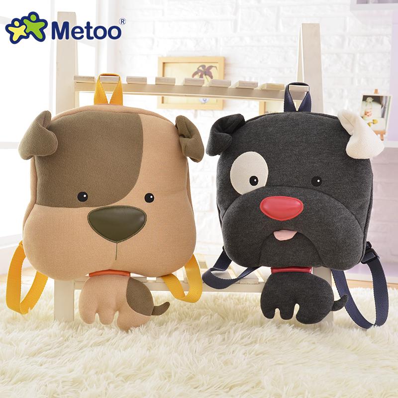 Gift for baby 1pc 44cm cartoon Metoo big Inizio pudding spotty dog Satchel plush backpacks bag kindergarten birthday gift<br><br>Aliexpress