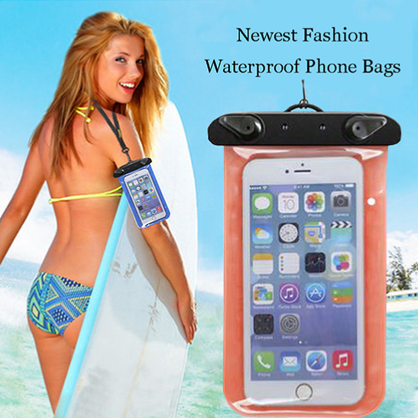 Water Proof Diving Bags Out door WaterProof Pouch Mobile Phone Case For Lenovo A5000 A2800 S650 Underwater Phone Bag 100% Sealed(China (Mainland))