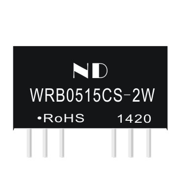 2w dc dc 5V to 15V converters regulated single output isolated power module quality goods(China (Mainland))