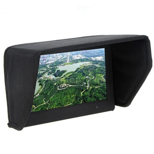 "Folding SunShade Sun Hood Visor For 7"" 8"" LCD Monitor Display Phantom 2 FPV Remote Control Flat Visor Rc Quadcopter Parts(China (Mainland))"