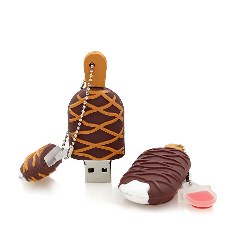 usb flash drive cartoon ice cream 4g/8g/16g32g/64g usb 2.0 small Popsicle pen drive 16g pendrive flash card flash memory stick(China (Mainland))