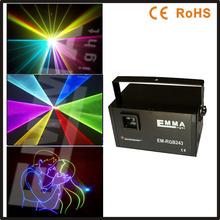 2000 mw RGB LASER SHOW DMX ILDA SDCARD