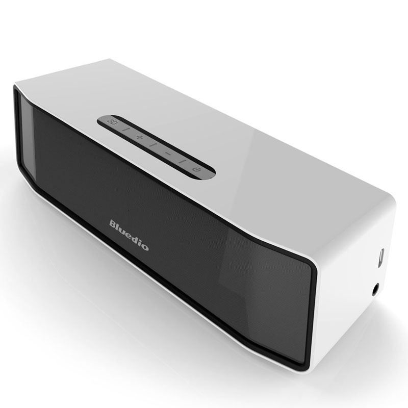 Bluedio BS-2 (Camel) Mini Bluetooth speaker Portable Wireless speaker Sound System 3D stereo Music surround(white)(China (Mainland))
