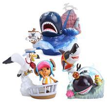 Original Anime One Piece PVC Figures Collectible Model Toys 8.5CM 3pcs/set OPFG431