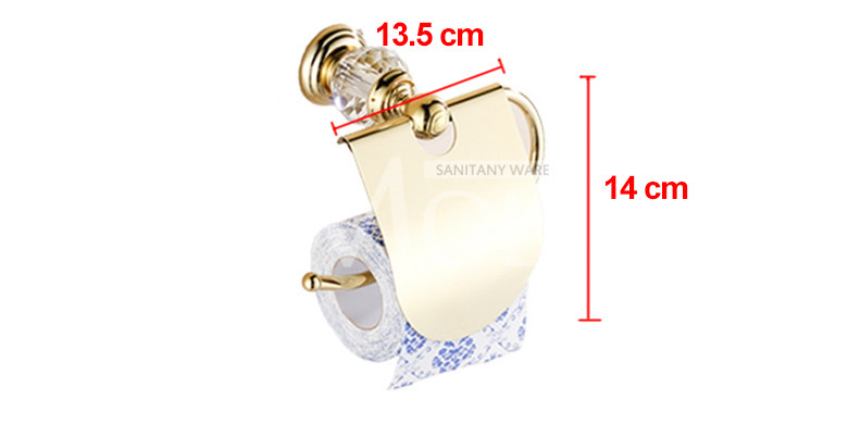 HTB1l3UdNpXXXXaPXFXXq6xXFXXXi - Gold finish crystal decoration metal bathroom accessories set robe hook cup brush holder towel holders soap dish paper rack