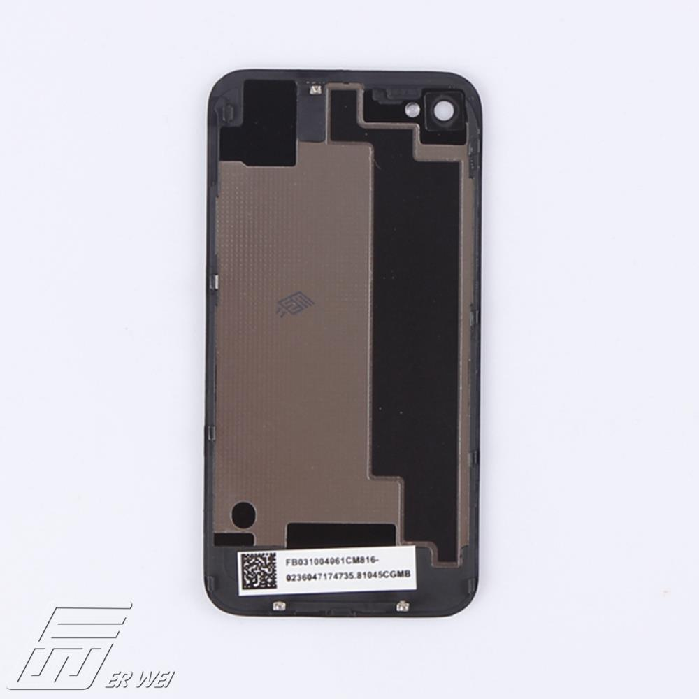 Free shipping in 5Pcs/lot of Black Housing Rear Back Door Battery Cover Case For iPhone 4Swith a screwdriver etc tools(China (Mainland))