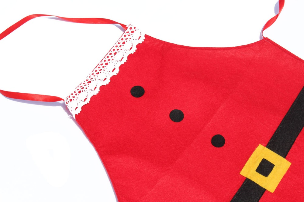 Fashion christmas decoration Apron for Chefs Kitchen Cooking Home santa claus Cleaning Tool Accessories