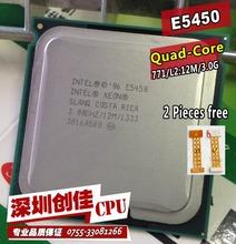 Intel Xeon E5450 3.0 GHz / 12 M / 1333 processeur près de LGA771 Core 2 Quad Q9650 cpu, Fonctionne sur LGA 775 carte mère 2 peças livraison(China (Mainland))