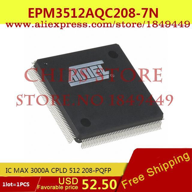 Бесплатная Доставка Электронные Компоненты в Исходном EPM3512AQC208-7Н IC MAX 3000A CPLD 512 208-КОРПУСЕ PQFP 3512 EPM3512 1 ШТ. утюг clatronic db 3512