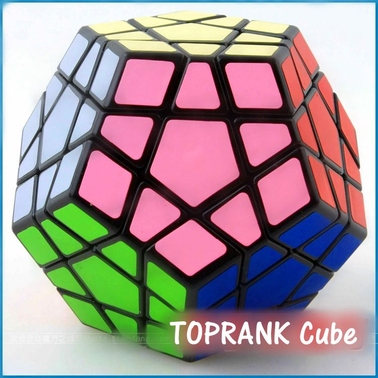 Special Toys 12-side Megaminx Magic Cube Puzzle Speed Cubes Educational Toy Wholesale cube toy