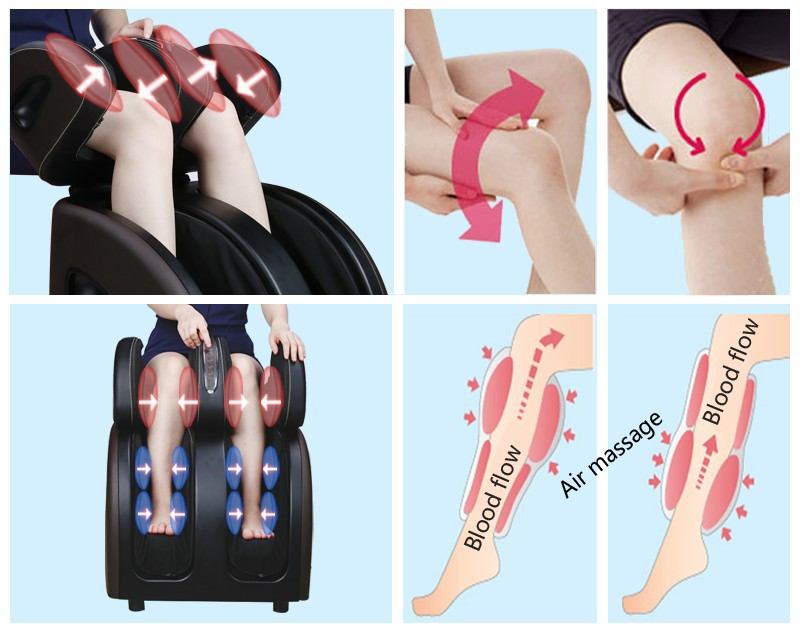TheraSqueeze Pro Foot, Calf and Thigh Massager,foot Leg Massage Machine for Health Care,Deep-kneading Shiatsu Massagers 50012 cheap