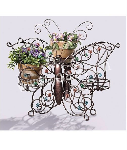 decoracao ferro jardim:Flower Metal Garden Decor