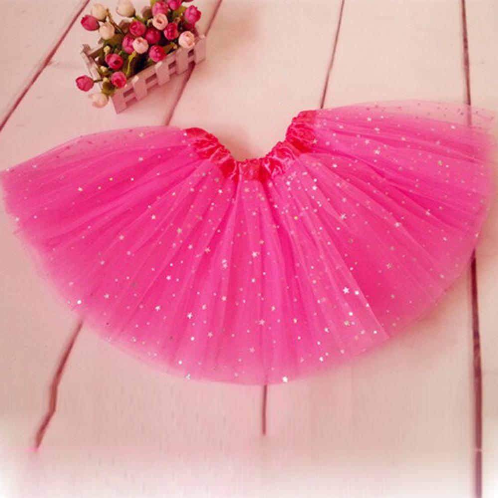Girls Kids Tutu Skirt Princess Party Ballet Dance Wear  Pettiskirt Costume Free Shipping