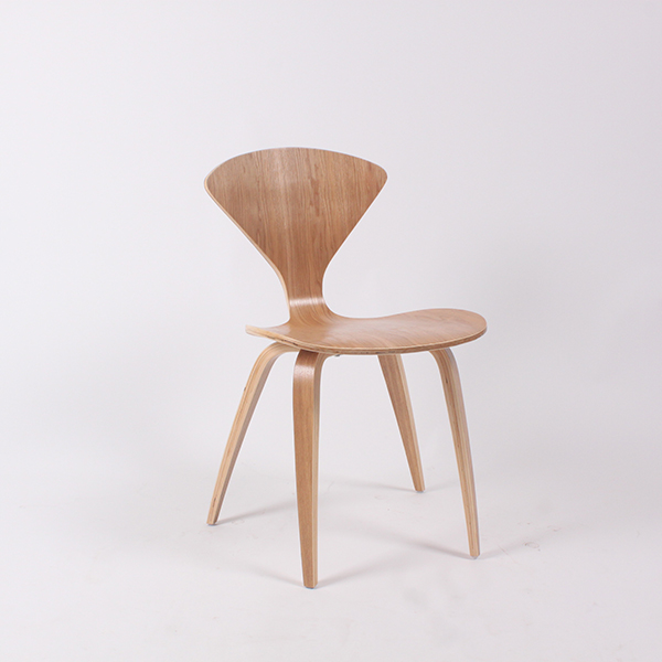 ch177 natural side chair walnut or ash wooden norman cherner chair plywood chairs red black white ch177 natural side chair walnut ash