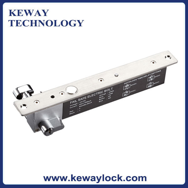 High Quality Electric Door Lock with Cylinder and Keys 12V Electric Bolt Fail Safe(China (Mainland))