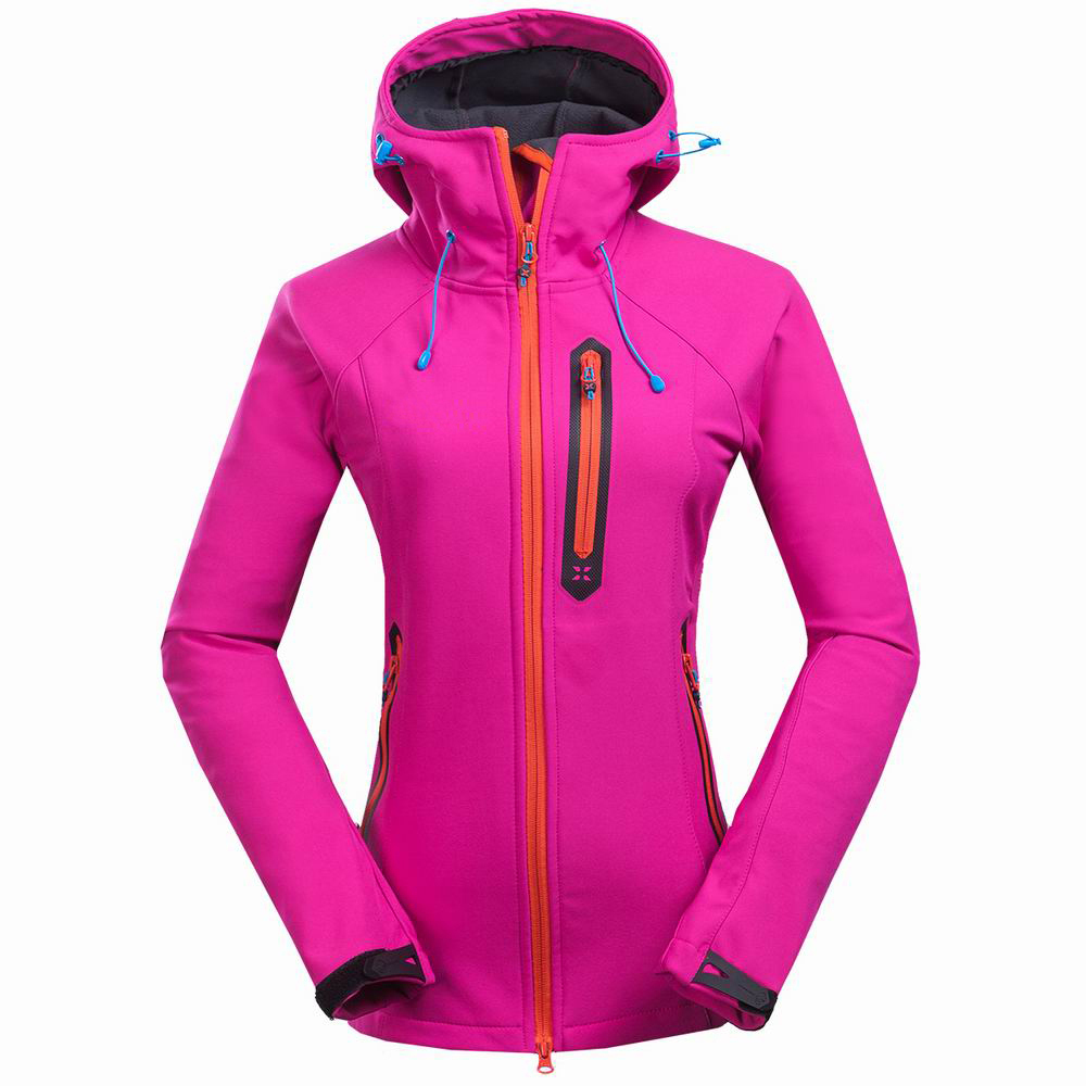 2015 Newest mammoth Brand Hiking Softshell Jacket Women Waterproof Windproof Thermal Jacket Windstopper Hiking Camping Ski Hi-Q(China (Mainland))