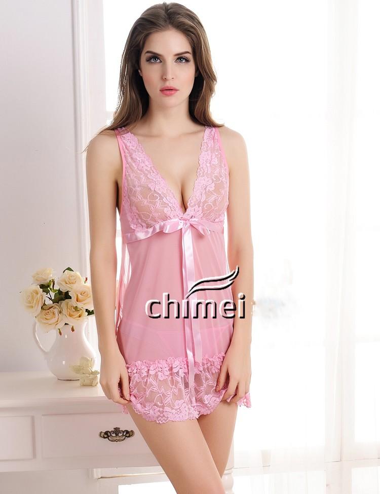 っS-3XL Plus Size ⑧ Brand Brand Spring Summer Nightgown ...