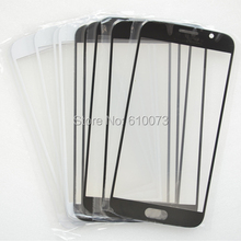 50PCS/Lot Outer Touch Panel For Samsung Galaxy S6 G920 G920F Front Screen Glass Lens Replacement Part – White Black