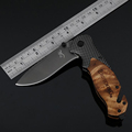 Jeslon Browning X50 Tactical Folding Mini Pocket Knife Steel Blade Titanium Survival Knives Huntting EDC Tool