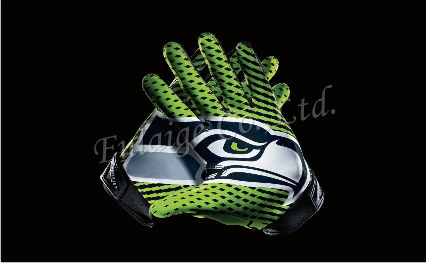 Seattle Seahawks Glove 3x5 ft flag 100D Polyester flag 90x150cm NFL custom american football gloves flag(China (Mainland))