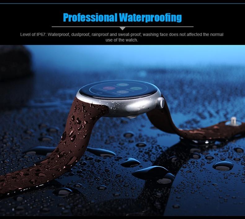 ถูก ใหม่กีฬาS Mart W Atch C1waterproofว่ายน้ำบลูทูธสมาร์ทนาฬิกาท่าทางควบคุมนหัวใจS Mart W Atchสำหรับa Ndroidแอปเปิ้ล
