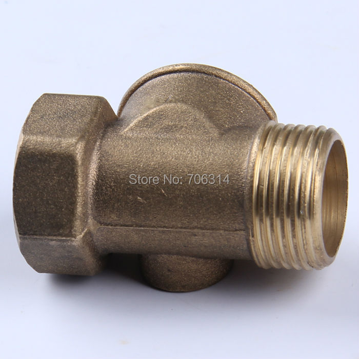 Brass 4 Way Connector In Water Pump one inches(China (Mainland))
