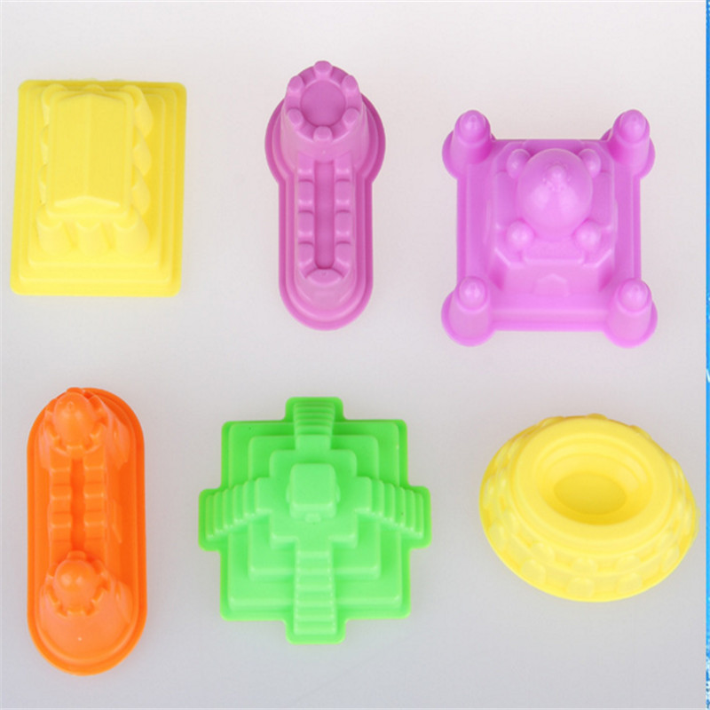 6pcs/set Sand castle mold mold space power accessories clay mold childrens educational toys<br><br>Aliexpress