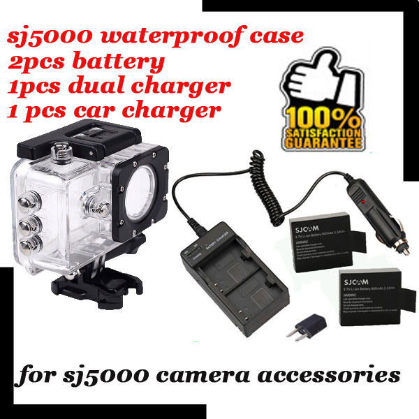 Original SJ5000 WIFI Diving Housing Case Waterproof Case For Sports DV SJCAM SJ5000 Plus Underwater Protective Box Action Camera<br><br>Aliexpress