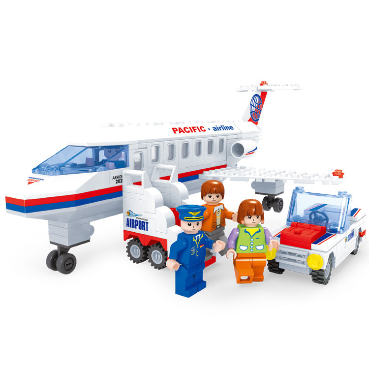 2015 Airplanes Building Blocks Sets Plane Educational Building Bricks Aviation Games For BOYs & Girls Toys & Birthday Gift(China (Mainland))
