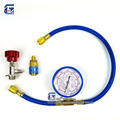 R134a R22 R410a R404a Refrigerant Charging Hose with Gauge Recharge Measuring Tool