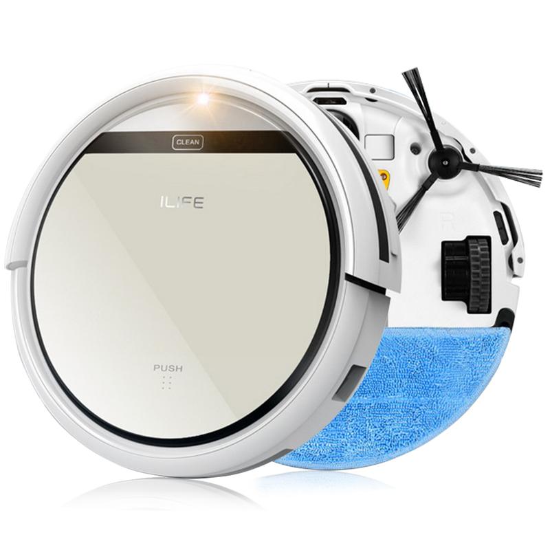 ILIFE Mop Robot Vacuum Cleaner for Home, iLife V5 CW310 Golden lid HEPA Filter,Sensor,Remote control Self Charge ROBOT ASPIRADOR(China (Mainland))