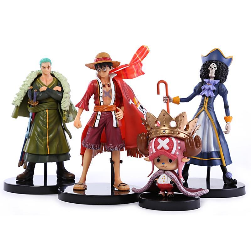 font b Anime b font One Piece Action Figure FILM Z Luffy Zoro Brook Chopper