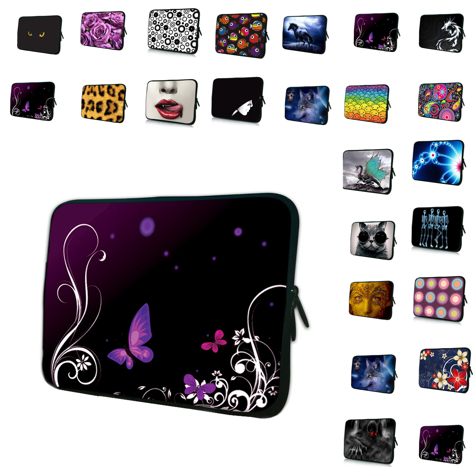 Given the special gift of beauty 15 15.3 15.4 15.5 15.6 inch laptop bag Comfortable Neoprene Material Sleeve Cases for Dell Acer(China (Mainland))