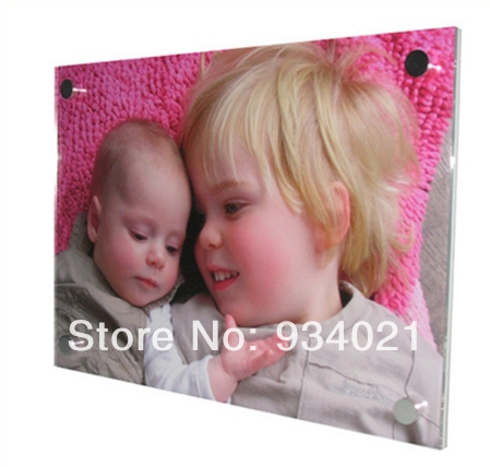 """free shipping Acrylic Picture Frames Wall Mounted Art Display 16"""" x 20""""(China (Mainland))"""