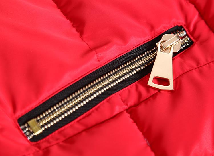 Осень и зима одежда женщины надьямарош воротник вниз хлопок жилет корейский приталенный закрытый воротник жилет женское жилет