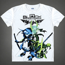 Black Rock Shooter Mato Kuroi New Summer Animal T Shirt 3D Printed Men Characters Anime Short Sleeve T-shirt Tops Tees Camisetas