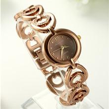 Top Luxury Fashion Rose Gold Bracelet Watch Women Full Steel Quartz Watch Hour Clock bayan kol saat relogio feminino reloj mujer
